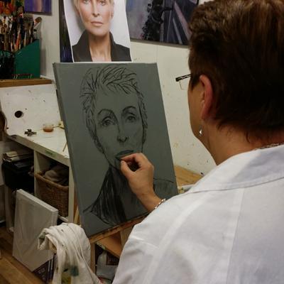 portrait débutant