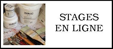 Bouton stage en ligne